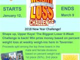 Weight Loss Challenge Flyer Template Free Biggest Loser Returns to the Upper Keys Key West the