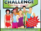 Weight Loss Challenge Flyer Template Free Energy Clipart Weight Loss Challenge Pencil and In Color