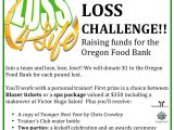Weight Loss Challenge Flyer Template Free Weight Loss Challenge 2015 Raising Funds for the oregon
