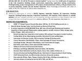 Welder Fresher Resume format Contoh Resume Site Supervisor Terbaru 10