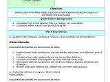 Welder Fresher Resume format Resume format for Fresher Lecturer In Engineering College
