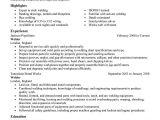 Welder Fresher Resume format Resume format for Iti Welder Fresher Resume format Example
