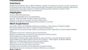 Welder Resume format In Word Welder Resume Template 6 Free Word Pdf Documents