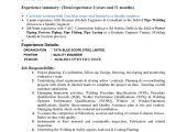 Welding Engineer Resume Pdf Editable Welding Resume Template Pdf format E Database org