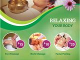 Wellness Flyer Templates Free Download Spa and Wellness Free Psd Flyer Template