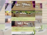 Wellness Flyer Templates Free Spa Wellness Flyer Flyer Templates Creative Market