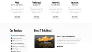 Wesite Templates Internet Website Template 36204