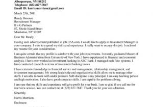 What are Cover Letters for Jobs How to Write A Job Cover Letter Resume Badak