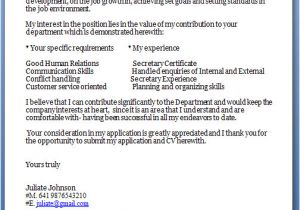 What are Cover Letters for Jobs Job Cover Letter Template