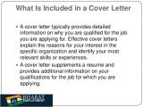 What Do You Put In A Covering Letter Bharat Employment Cover Letter