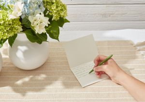 What Do You Put On A Funeral Flower Card Thank You Note Samples for after A Funeral
