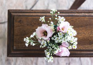 What Do You Put On A Funeral Flower Card when attending A Visitation or Funeral You Might Find