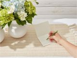 What Do You Say On A Sympathy Flower Card Thank You Note Samples for after A Funeral