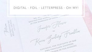 What Do You Write In A Wedding Card Choosing A Printing Method for Wedding Invitations with