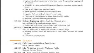 What Does A Professional Resume Look Like Resume format Resume format Latex
