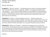 What Goes In A Cover Letter for A Job What Should A Cover Letter for Job Application Include