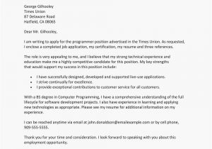 What is A Cover Letter when Applying for Jobs Sample Cover Letter for A Job Application