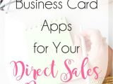 What is A Digital Business Card Using Digital Business Cards for Your Direct Sales or Home