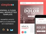 What is A Responsive Email Template Simple Responsive Email Template Email Templates On