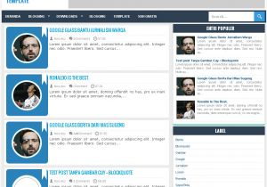What is A Responsive Template Downloads Benclunx Responsive Minimalist Blogger Template