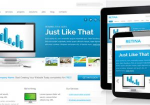 What is A Responsive Template Retina Free Responsive Template Chocotemplates