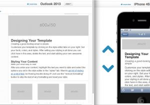 What is A Responsive Template Six New Responsive Email Layouts and Other Template