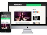 What is A Responsive Template Zbrandon Free Responsive HTML5 theme Zerotheme