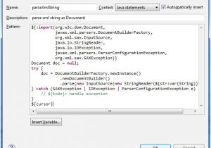 What is A Template In Java Create Eclipse Templates for Faster Java Coding