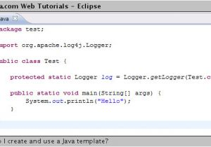 What is A Template In Java How Do I Create and Use A Java Template Web Tutorials
