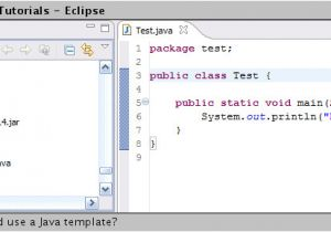 What is A Template In Java How to Use Java Templates In Eclipse Full Version Free