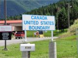 What is A Us Border Crossing Card Illegals are Self Deporting to Canada because Of Trump Says