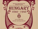 What is Professional Card In Belgium 100 Years Of Hungarian Music by J J Lubrano Music