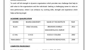 What is Resume Prepare A Resume for A Job Interview Job Interview 3 Resume format Job Resume format