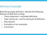 What is the Meaning Of Template Definition Writing