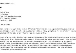 What Should A Covering Letter Say Should You Write A Cover Letter Letter Of Recommendation