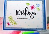 What Should I Write In A Happy Birthday Card Card Wishing You Happy Birthday Blue On White Wish