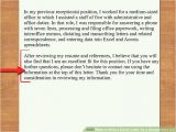 What Should I Write In Cover Letter for A Job How to Write A Cover Letter for A Receptionist Job 12 Steps
