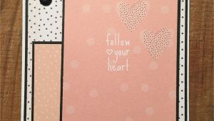 What Size is A Greeting Card Card Just because Follow Your Heart Greeting Cards