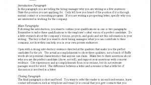 What to Include In A Cover Letter for A Job What to Include In A Cover Letter Gplusnick