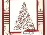 What to Say In A Christmas Card Stampin Up Snow Swirled Card Kit Christmas Stamped