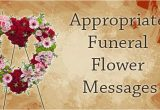 What to Say In A Funeral Flower Card Appropriate Funeral Flower Messages