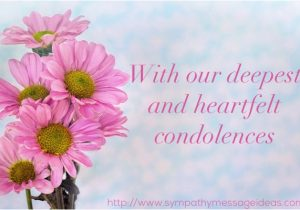 What to Say In A Funeral Flower Card Funeral Flower Messages What to Say Sympathy Card Messages