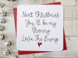 What to Say In A Love Card Next Christmas You Ll Be My Grandmother Script Card