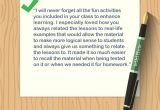 What to Say In A Thank You Card 4 Ways to Write A Thank You Note to A Teacher Wikihow