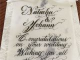 What to Say In A Thank You Card Wedding Wedding Calligraphy In toronto and the Greater toronto area