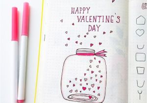 What to Say In A Valentine S Day Card Happy Valentine S Day D with Images Bullet Journal