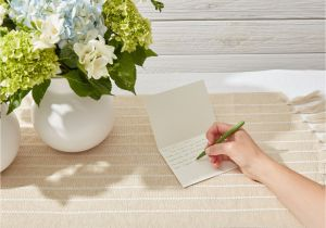 What to Say On A Funeral Flower Card Thank You Note Samples for after A Funeral