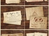What to Write In A Birthday Card Invitation Harry Potter Inspired Invitations Harry Potter Party Harry