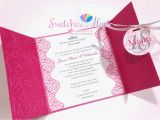 What to Write In A Birthday Card Invitation Princess theme Gate Fold Debut Invitation Birthday Party
