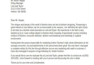 What to Write In A Cover Letter for Retail 7 Retail Cover Letter Templates Free Sample Example